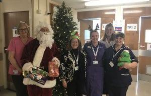 Christmas on the Childrens Ward at Royal Preston Hospital