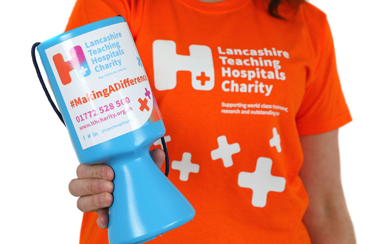 Collection Box for the Lancashire Teaching Hospitals Charity