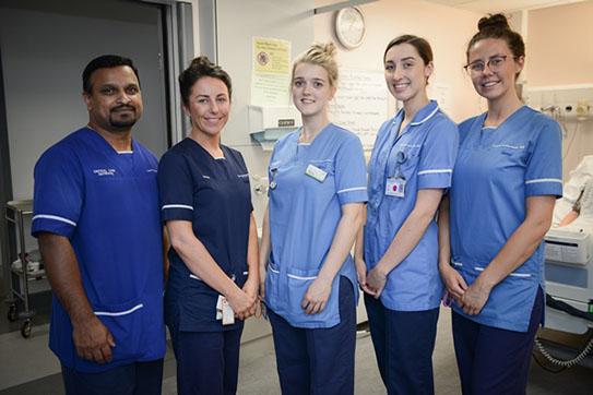 NHS Staff at Royal Preston Hospital